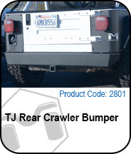 Rear Crawler Bumper Press Release