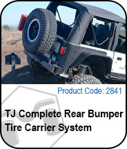 Complete Rear Bumper Tire Carrier System Press Release