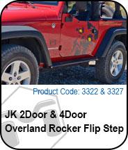 Overland Flip Step Press Release