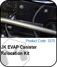 EVAP Canister Relocation Kit Press Release