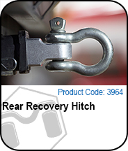 Rear Recovery Hitch Press Release