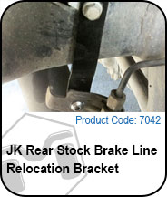 Rear Stock Brake Line Relocation Bracket Press Release