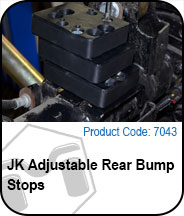 JK Rear Adjustable Bump Stops Press Release