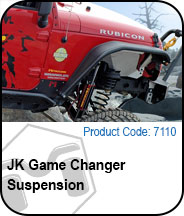 JK Game Changer Suspension Press Release