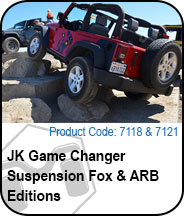 Game Changer Fox and ARB Editions Press Release