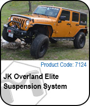 Overland Elite Suspension Press Release