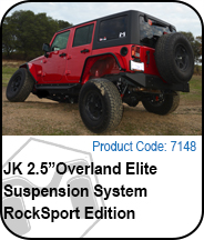 Overland Elite Suspension Rocksport Edition Press Release