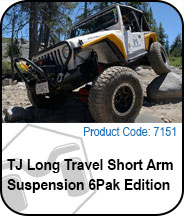 TJ Long Travel Short Arm Suspension Press Release