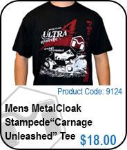 MetalCloak Stampede Carnage Unleashed Tee