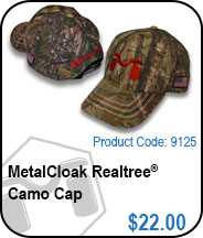 MetalCloak Realtree Camp Cap