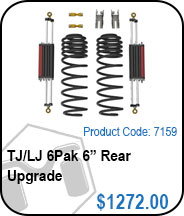 TJ 6Pak 6in Rear Upgrade