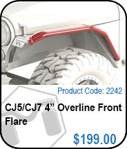 CJ 4in Overline Flares