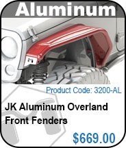 Overland Front Fenders