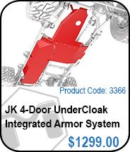 4-Door UnderCloak Armor System
