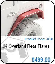 Overland Rear Flares