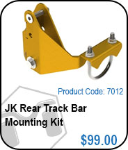 JK Rear Track Bar Bracket