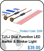 TJ Leds & Blinker Light