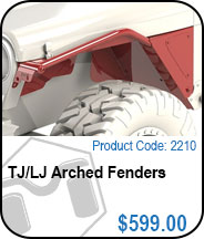 TJ Arched Fenders