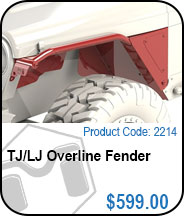 TJ Overline Fender