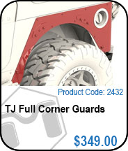 TJ Full Corner Guards