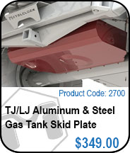 TJ Gas Tank Skid