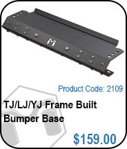 TJ/YJ/LJ Bumper Base