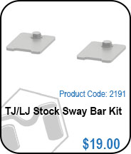 TJ/LJ Stock Sway Bar Kit