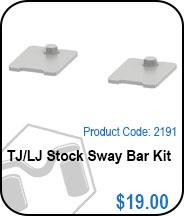TJ/LJ Stock Sway Bar Kit