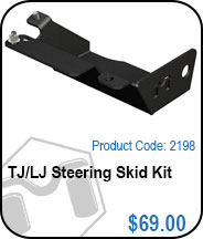 TJ/LJ Steering Skid Kit