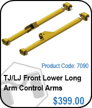 TJ/LJ Front Lower Long Arm Control Arms
