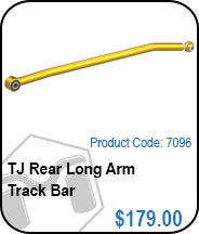 TJ Rear Long Arm TRACK bAR