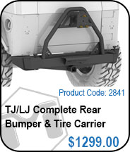 TJ Complete Bumper & Tire Carrier