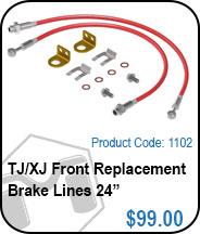 TJ Front Brake Lines