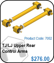 TJ Upper Rear Control Arms