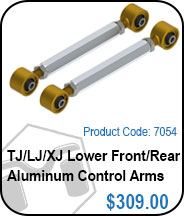 TJ/XJ Front or Rear Aluminum Control Arms