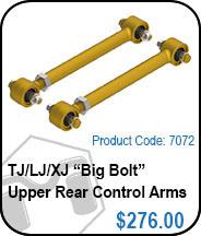 TJ Upper Rear Control Arms