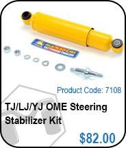 TJ/LJ OME Steering Stabilizer Kit