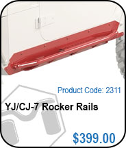 YJ Rocker Rails