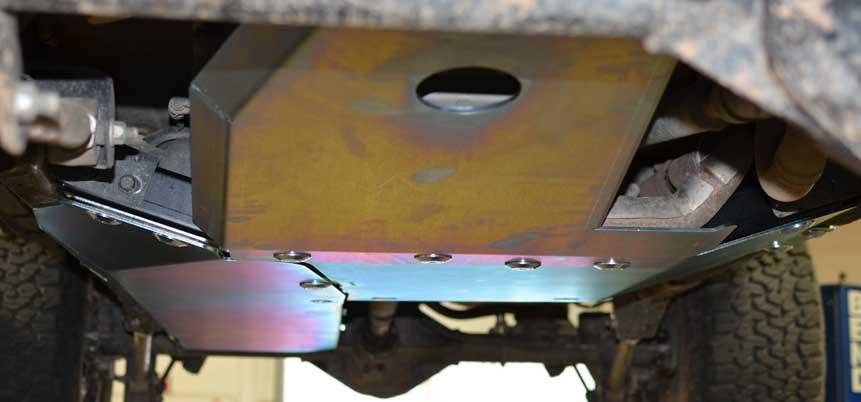 JK Wrangler Skid Plate