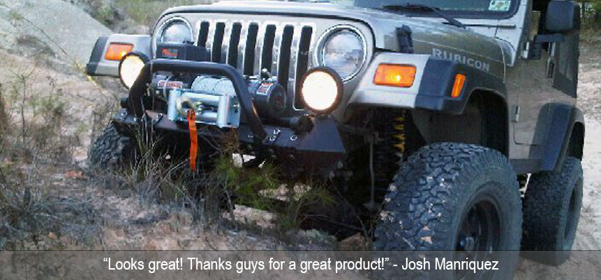 Tj Lj Wrangler Most Popular Frame Built Jeep Bumpers