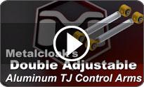 Double Adjustable Aluminum Control Arm Video