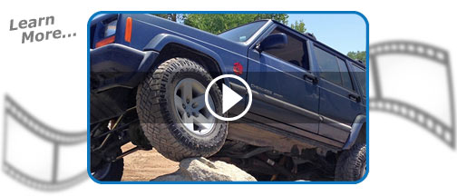 XJ Wrangler Suspensions & Lift Kits YouTube Playlist