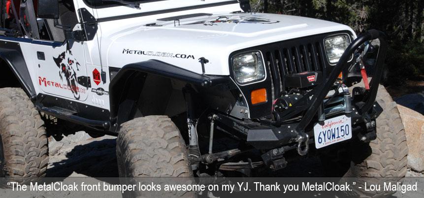 MetalCloak TJ Pre-Configured Bumper