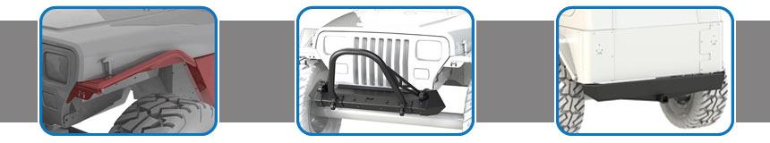 YJ Wrangler Suspensions & Lift Kits