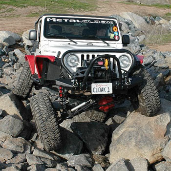 JK Rear 6Pak Shock Mount Kit
