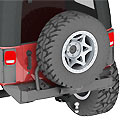 Picture of Jeep Arched Tube Fenders
